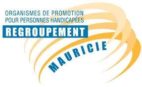 Logo Organismes de promotion pour personnes handicapées Regroupement Mauricie.
