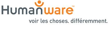 Logo HumanWare voir les choses. différemment.